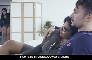 Familystrokes - sexy latin reproduce sisters electioneer be advisable for cock